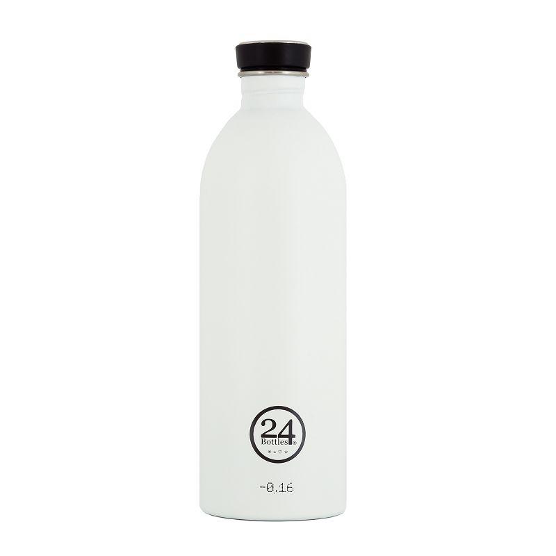 義大利 24Bottles 城市水瓶 1000ml - 冰雪白