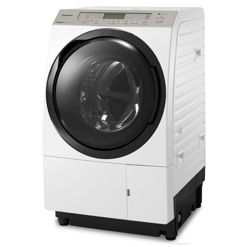 Panasonic 日本製洗脫烘滾筒洗衣機 金燦白 (右開) NA-VX90GR【贈基本安裝】