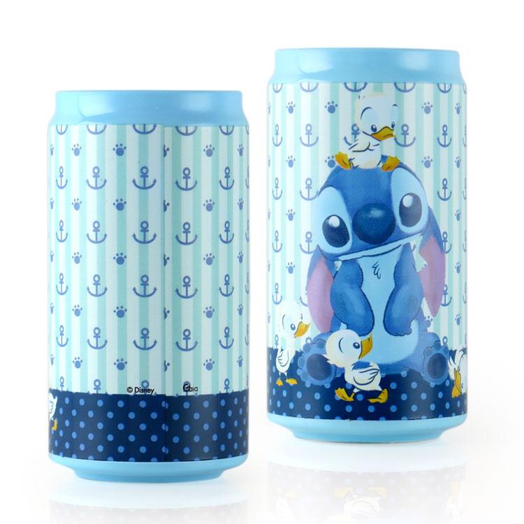 Disney迪士尼 10400 鴨鴨史迪奇 飲料罐造型行動電源/移動電源