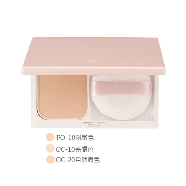 NOV 娜芙 防曬粉餅 (不含盒) SPF30 (粉嫩色) 12g 補充芯