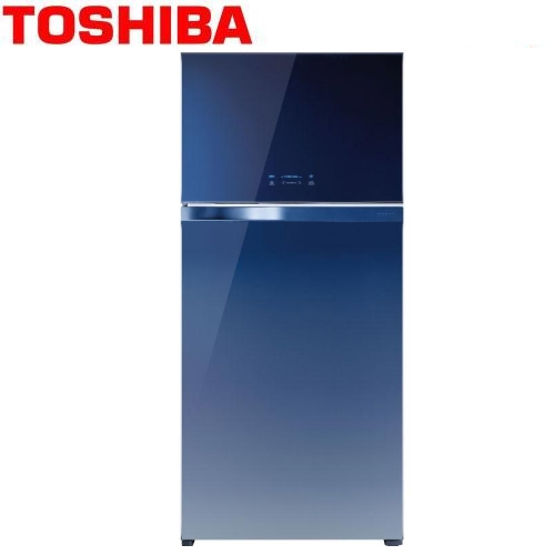 【TOSHIBA東芝】608L雙門變頻玻璃鏡面冰箱GR-WG66TDZ(GG)