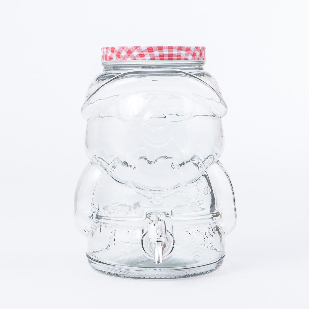 歡樂聖誕老公公飲料罐桶4L-生活工場