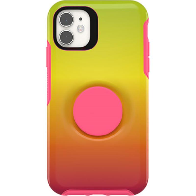 OtterBox 炫彩幾何泡泡騷保護殼iPhone 11 (6.1) 黃橙