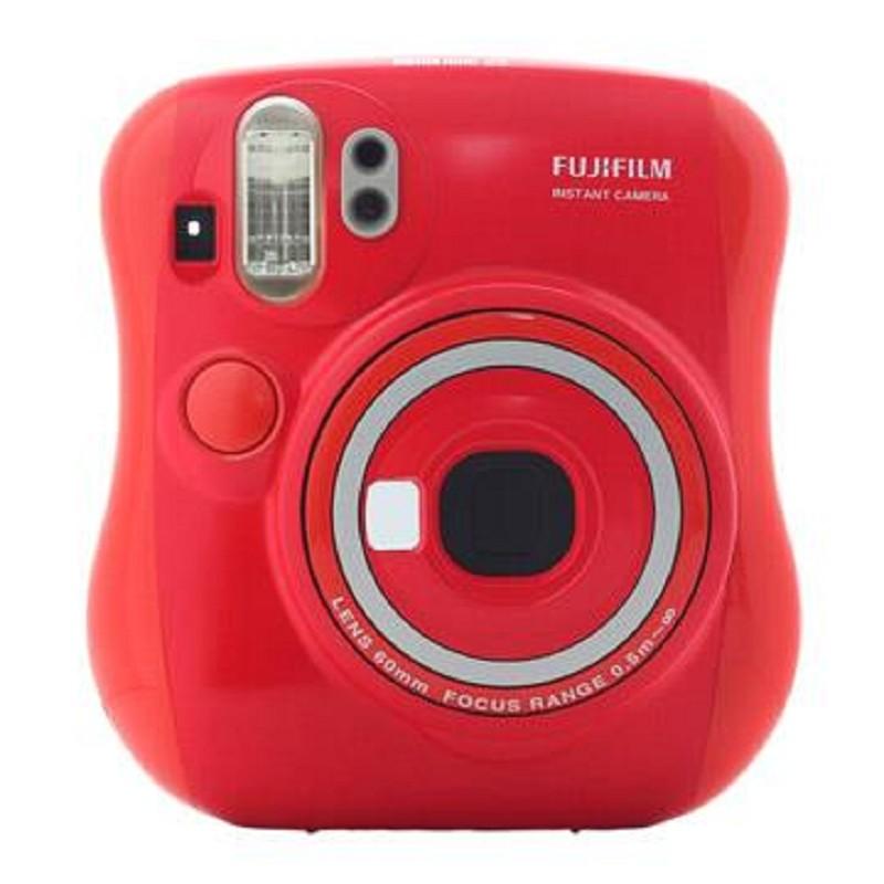 FUJIFILM拍立得 mini 25 聖誕紅 超值6件組 (原廠公司貨)