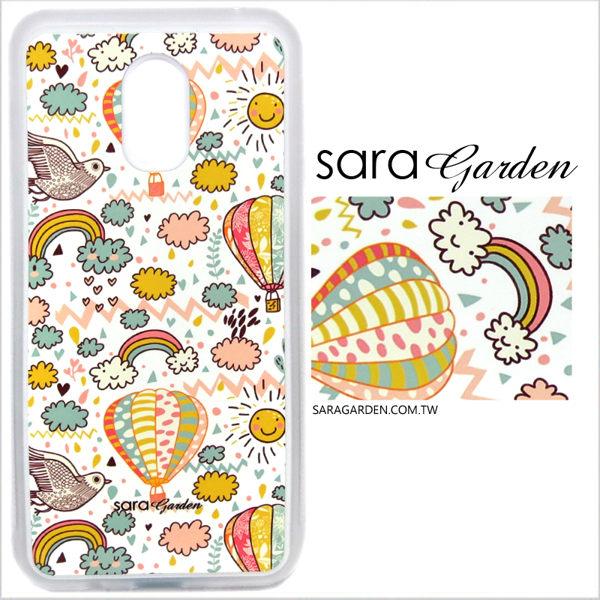 客製化 光盾 手機殼 Samsung 三星 Note4 白色防滑紋 保護套 軟邊 防摔殼 手繪微笑插畫