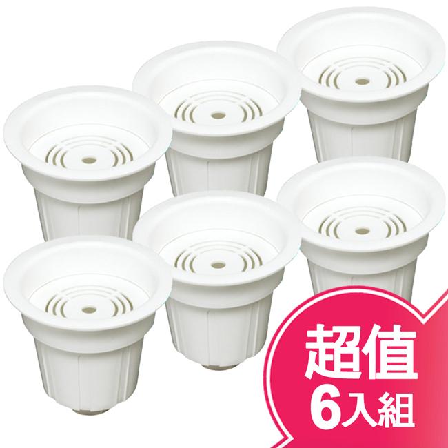 【元山】麥飯石顆粒活性碳活水濾心(超值六入組) YS-6722 三盒出貨