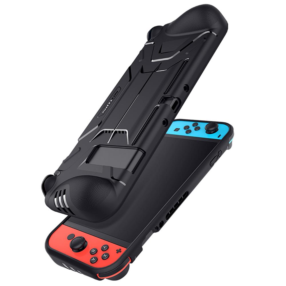 NILLKIN Nintendo Switch 戰甲保護套(黑色)