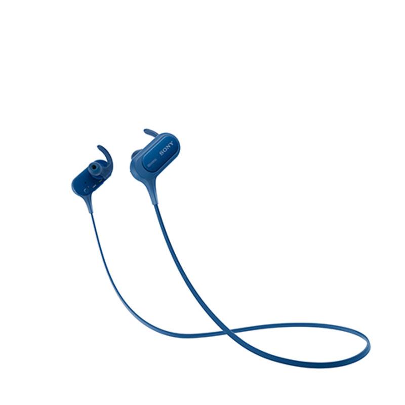 SONY 索尼 EXTRA BASS無線藍牙防水運動耳機 MDR-XB50BS 藍色