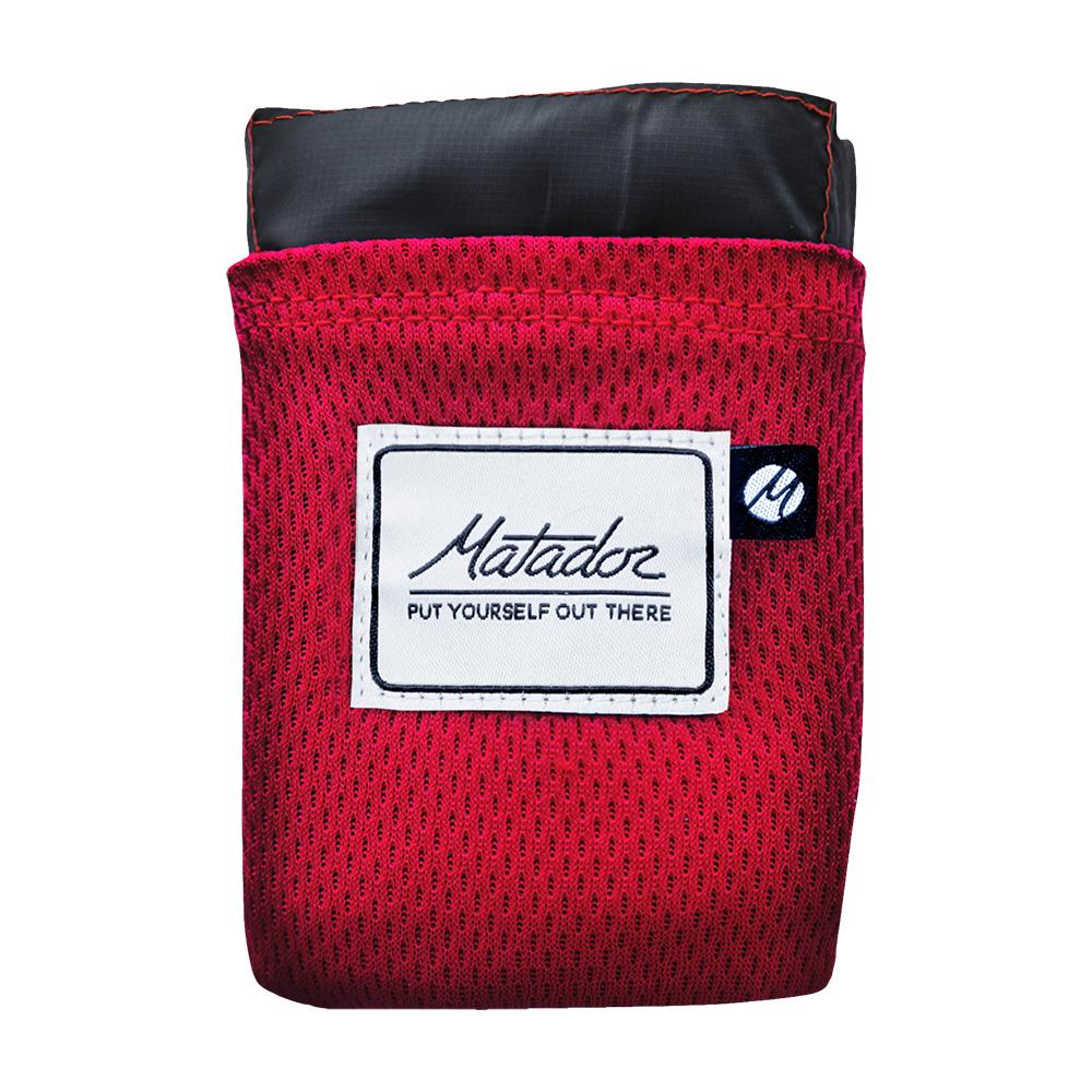 Matador Pocket Blanket 口袋型野餐墊-紅