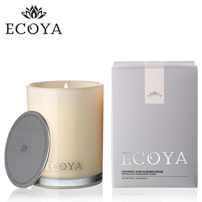 澳洲ECOYA 高雅香氛蠟燭-椰香接骨木 400g