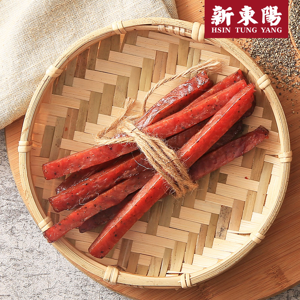 【新東陽】炙燒豬樂條-黑胡椒 (165g*2包),免運