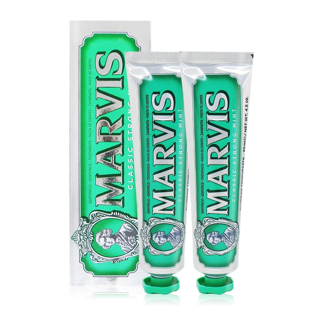 Marvis 經典薄荷牙膏(85ml)X2-國際航空版