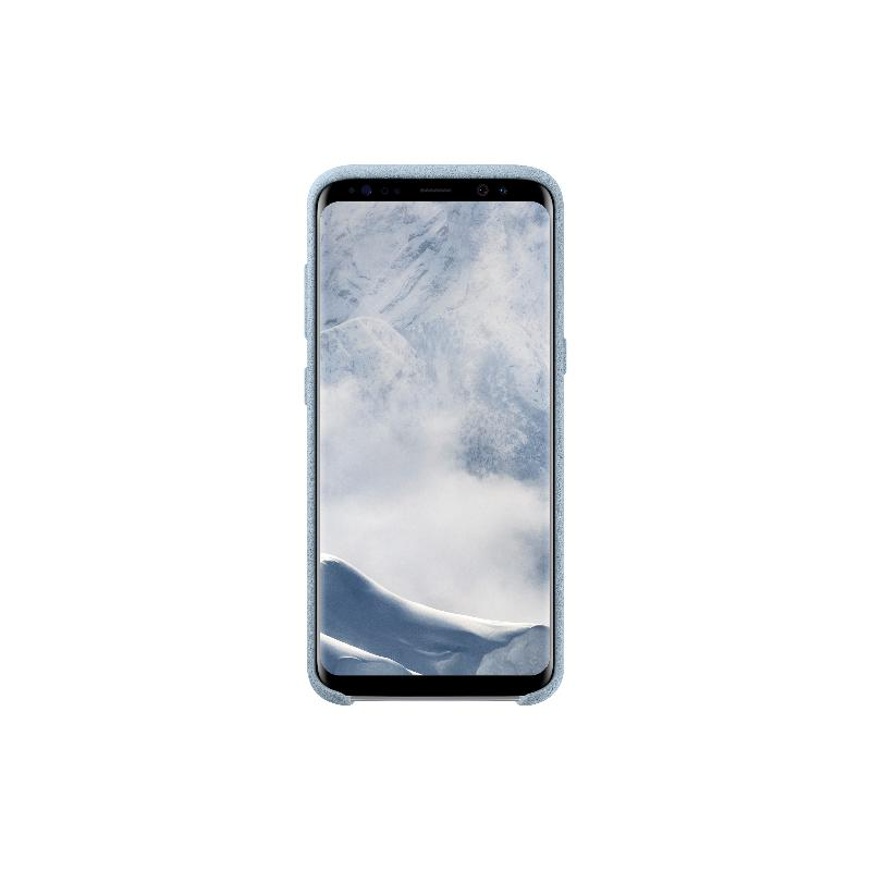 SAMSUNG Galaxy S8 Alcantara 義大利麂皮背蓋 薄荷色