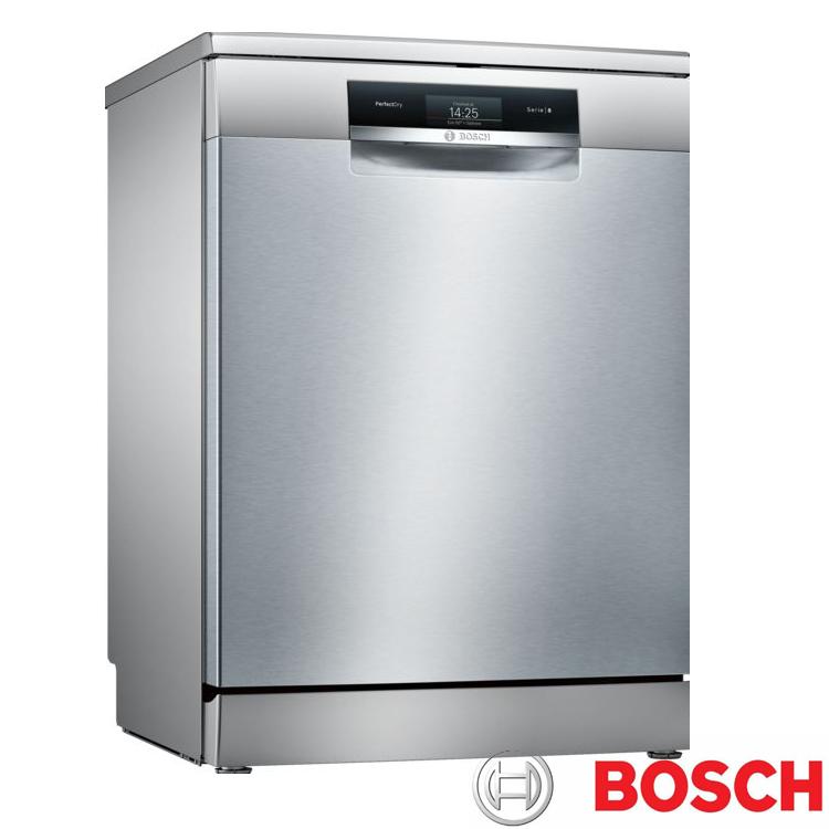 【BOSCH 博世】14人份 獨立式沸石洗碗機 SMS88TI00X (含原廠基本安裝)