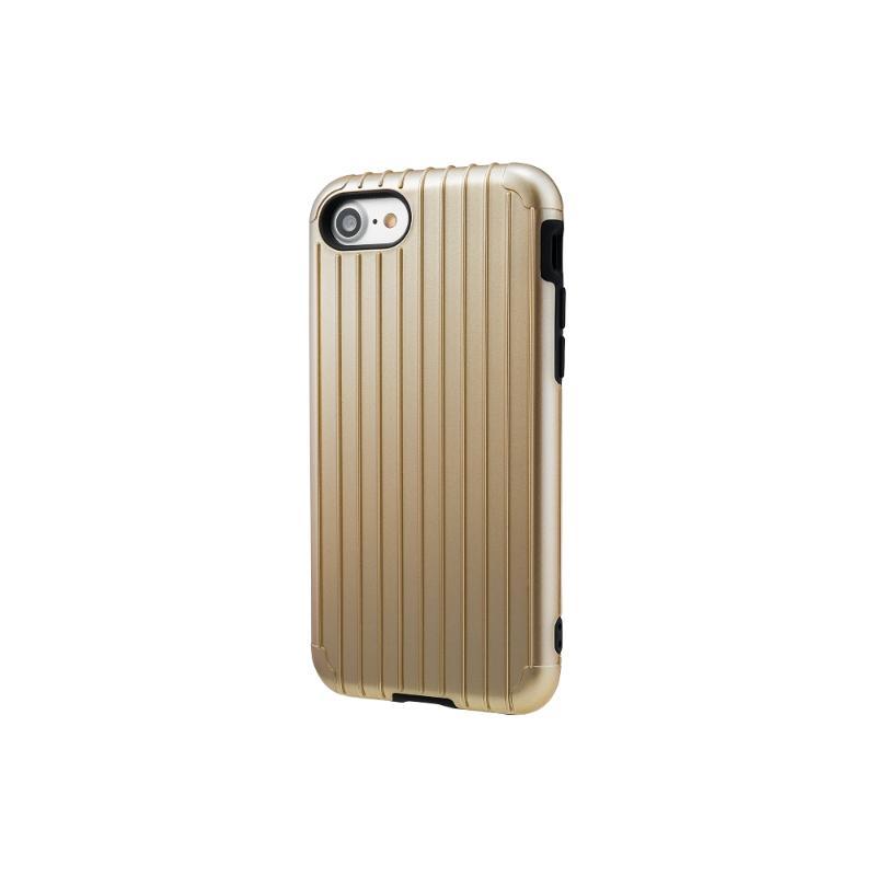 Gramas iPhone 8/7 經典手機殼 Rib 金
