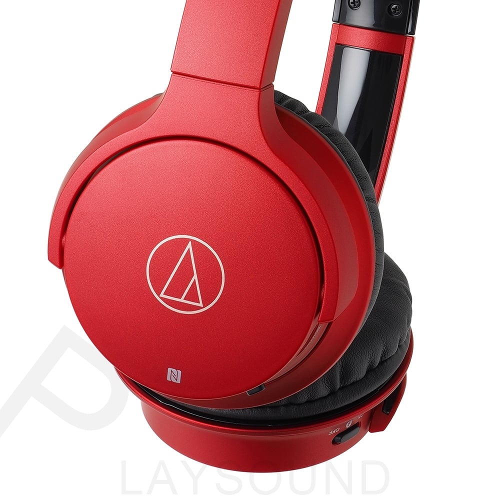 鐵三角 ATH-AR3BT 紅色 可折疊 無線藍牙 頭戴式耳機