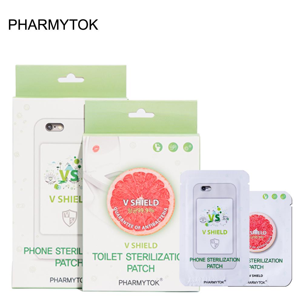 韓國PHARMYTOK 長效V盾二氧化氯抗菌貼片- 圓形貼