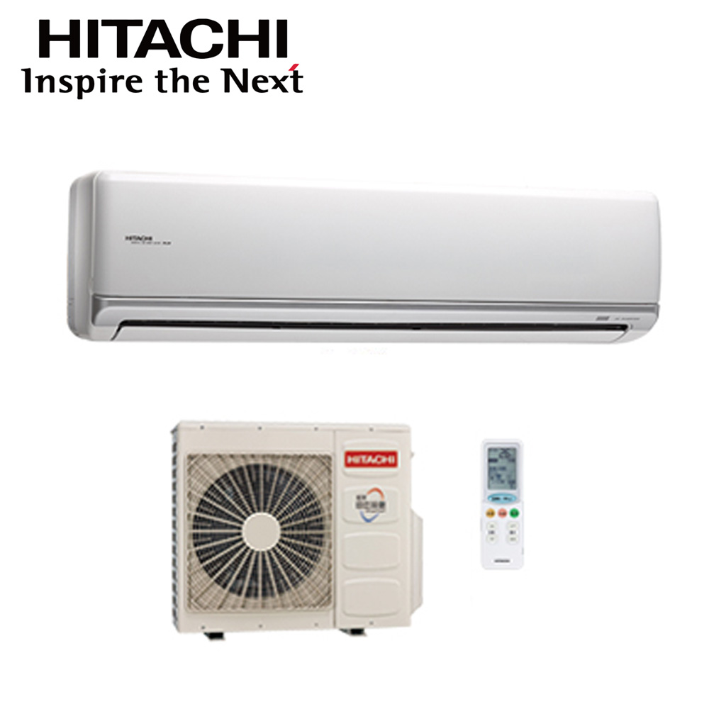 【HITACHI日立】11-13坪變頻冷專分離式冷氣RAC-90JK/RAS-90JK