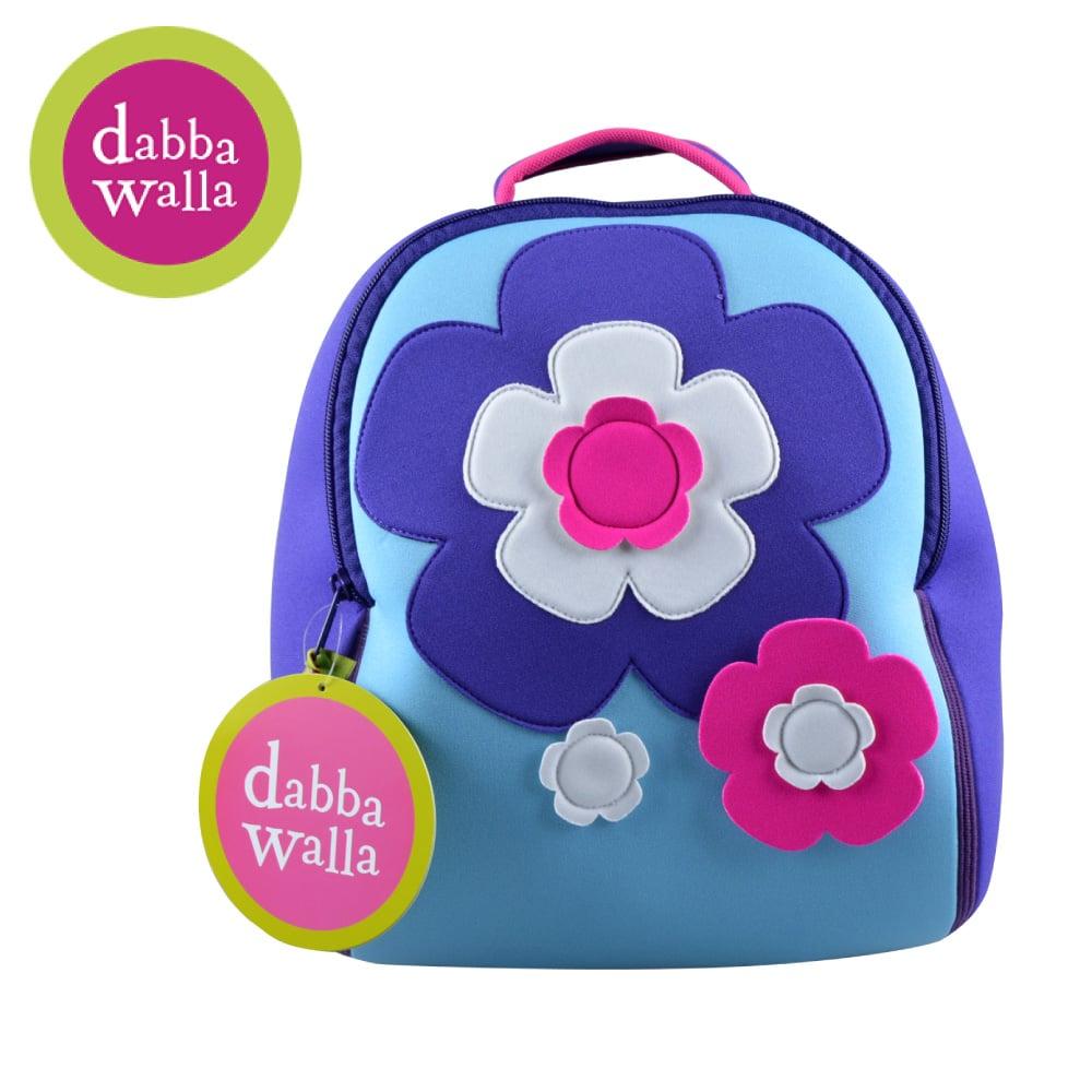 美國Dabbawalla瓦拉包 -花朵兒童後背包