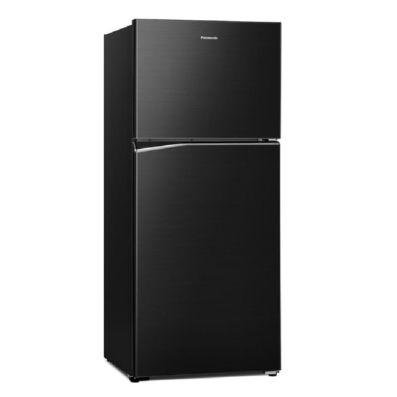 Panasonic 422L無邊框鋼板變頻雙門電冰箱 晶漾黑 NR-B421TV-K【贈基本安裝】
