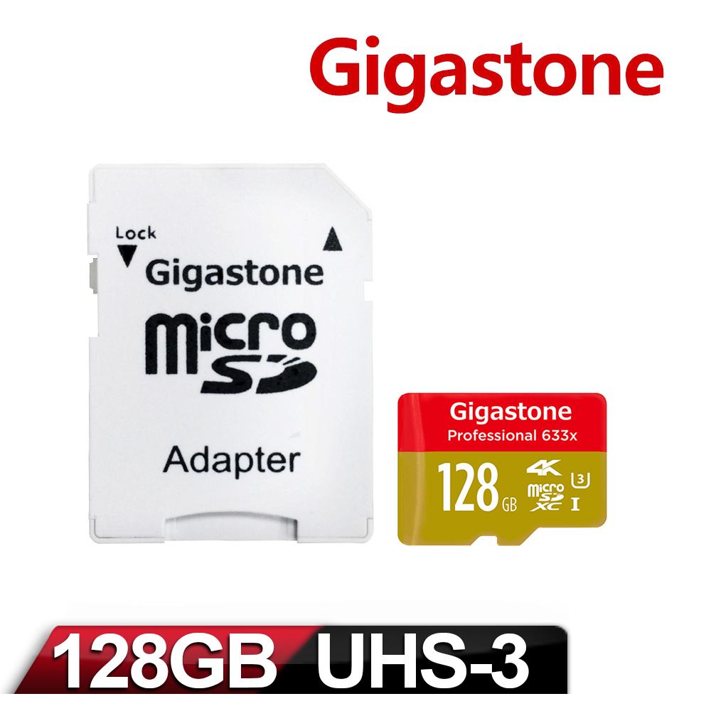 Gigastone 立達國際 Micro SDXC UHS-1 U3 128GB 記憶卡