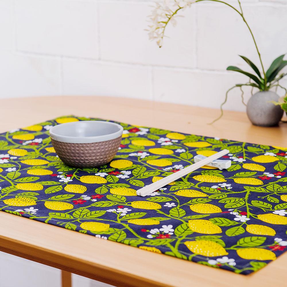 檸檬森林午茶巾50x70cm-生活工場
