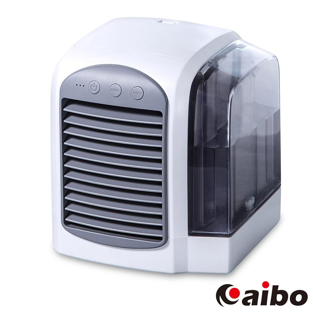 USB三段變速 分離式水箱 歐風水冷空調風扇(FAN-56)-低調灰