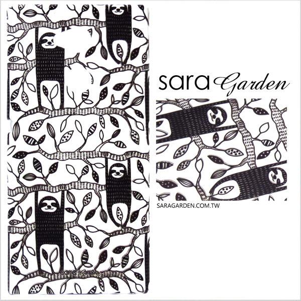 【Sara Garden】客製化 手機殼 SONY XA2 Ultra 保護殼 硬殼 手繪可愛樹懶