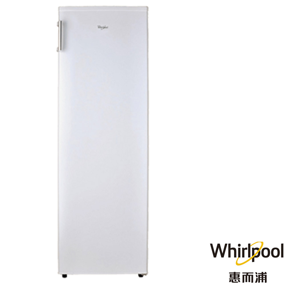 (送您晶鑽不沾炒鍋32CM) Whirlpool 惠而浦 193公升 直立式單門冰櫃 冷凍櫃 純白色 WIF1193W