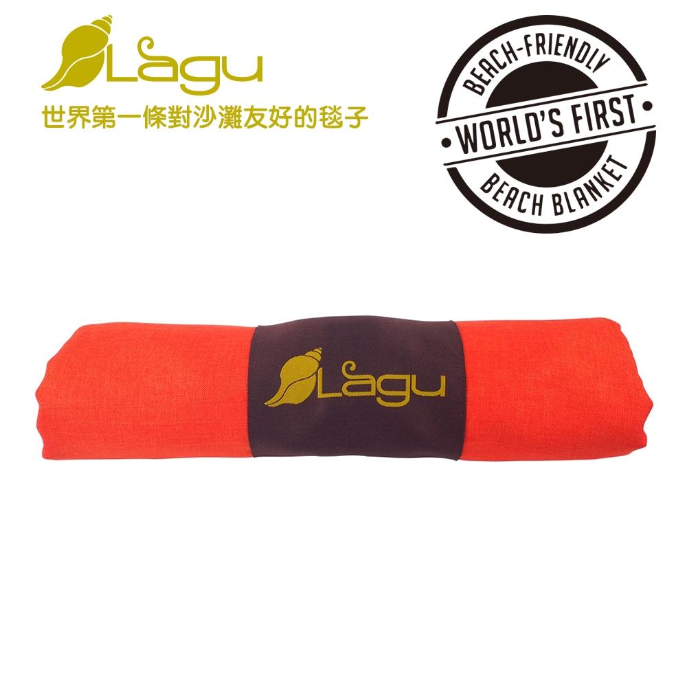 【澳洲Lagu】快乾防沙毯 (橘色)