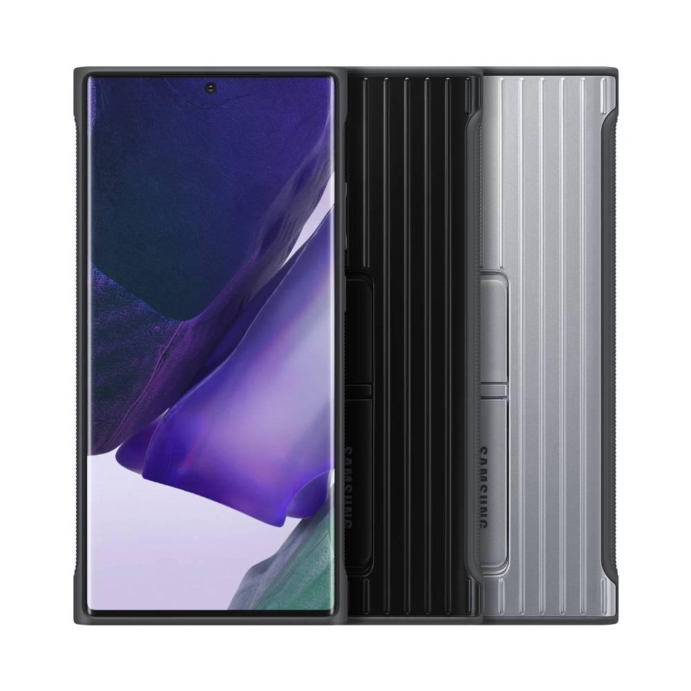 SAMSUNG Galaxy Note20 Ultra 立架式保護皮套 黑