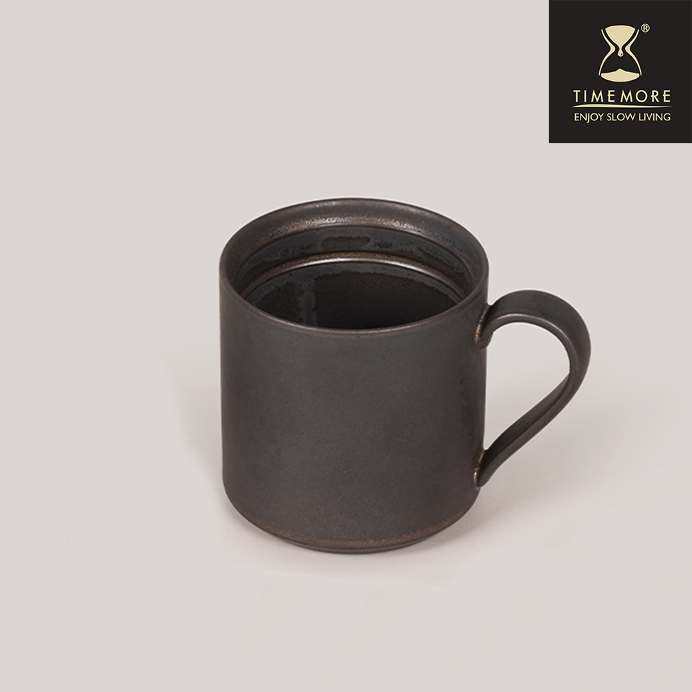 TIMEMORE泰摩陶瓷掛耳咖啡杯-金剛黑