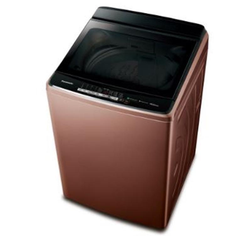 PANASONIC 17KG直立式溫水洗衣機  NA-V170GB-T  晶燦棕