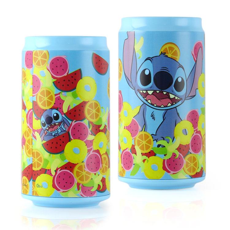 Disney迪士尼 10400 水果史迪奇 飲料罐造型行動電源/移動電源-主題