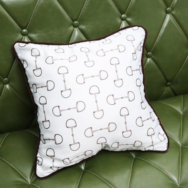馬術抱枕套45x45-生活工場