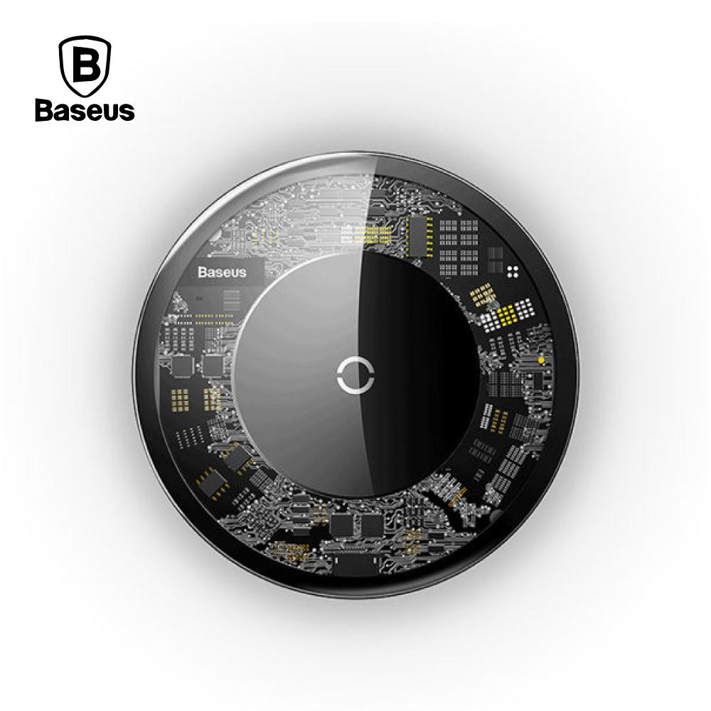 Baseus 倍思 極簡無線充充電器 透明款 - 透明