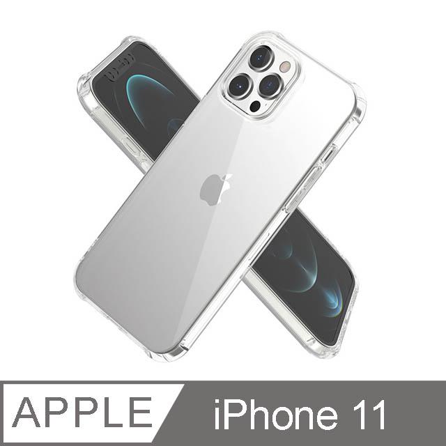 iPhone 11 6.1吋 BLAC全氣囊轉聲防摔iPhone手機殼 水晶透明