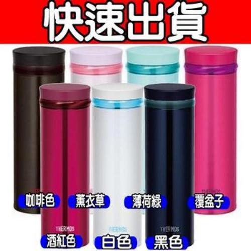 【THERMOS膳魔師 】不鏽鋼真空保溫杯0.5L (JNO-500/JNO-501)-BK黑色 JNO-500-BK