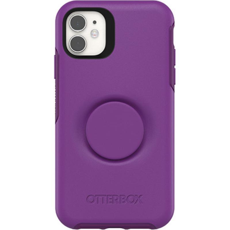 OtterBox 炫彩幾何泡泡騷保護殼iPhone 11 6.1 紫