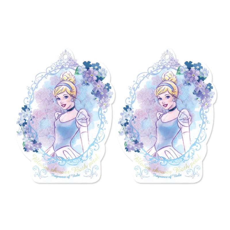 Disney迪士尼公主花瓣泡澡片-灰姑娘〈紫羅蘭香〉-2入組