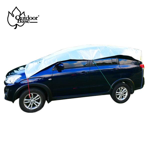 Outdoorbase 車用抗UV冰涼墊 車邊帳 天幕 地席 蓋布 多層防曬隔熱墊 內附收納袋-21645