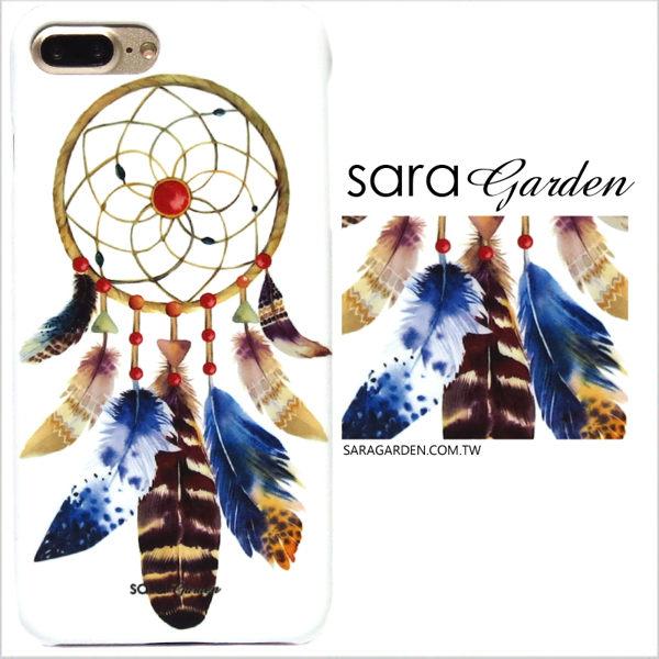 【Sara Garden】客製化 手機殼 ASUS 華碩 Zenfone2 laser 5吋 ZE500KL 保護殼 硬殼 手繪捕夢網
