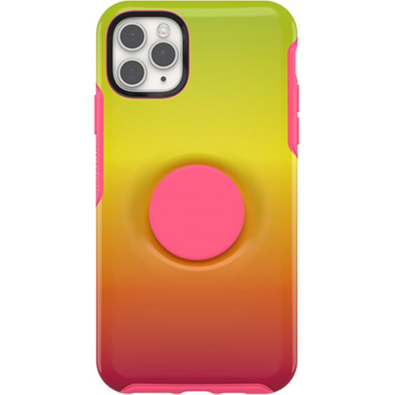 OtterBox 炫彩幾何泡泡騷保護殼iPhone 11 Pro Max 6.5 黃橙
