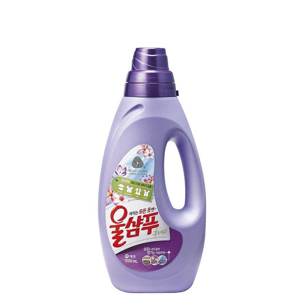 【韓國AK】精緻衣物洗衣精(持久花香型) 1LX3入