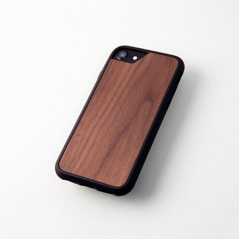 MOUS iPhone8 Plus 軍規級防摔手機殼 胡桃木