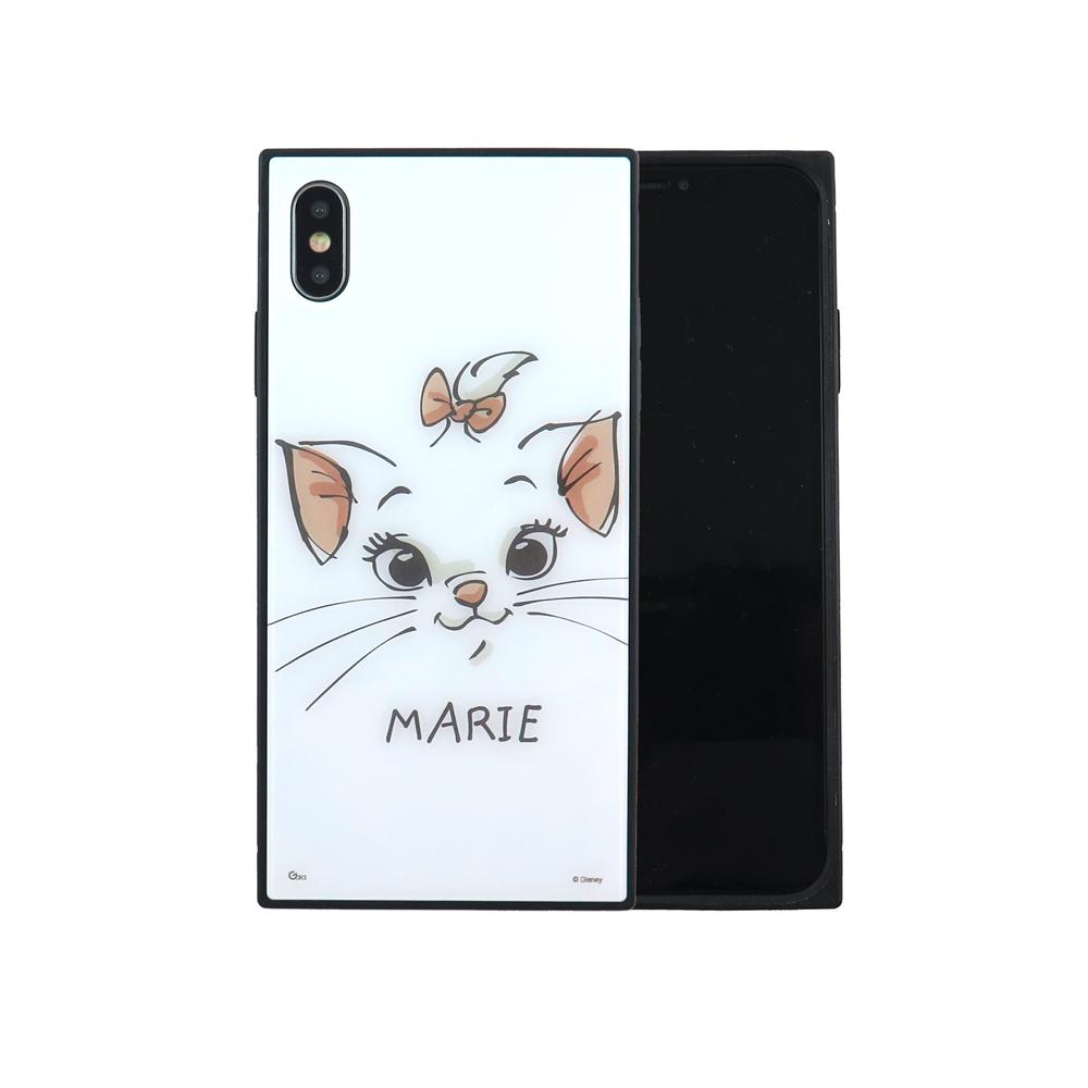 Disney迪士尼iPhone Xs Max玩具總動員方型殼_大臉瑪麗貓