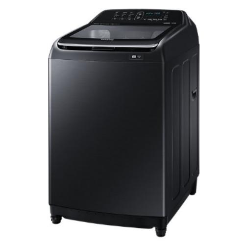【SAMSUNG三星】16KG 變頻直立式洗衣機-奢華黑 WA16N6780CV/TW