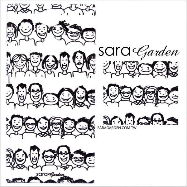 【Sara Garden】客製化 手機殼 華為 P9 保護殼 硬殼 手繪微笑表情