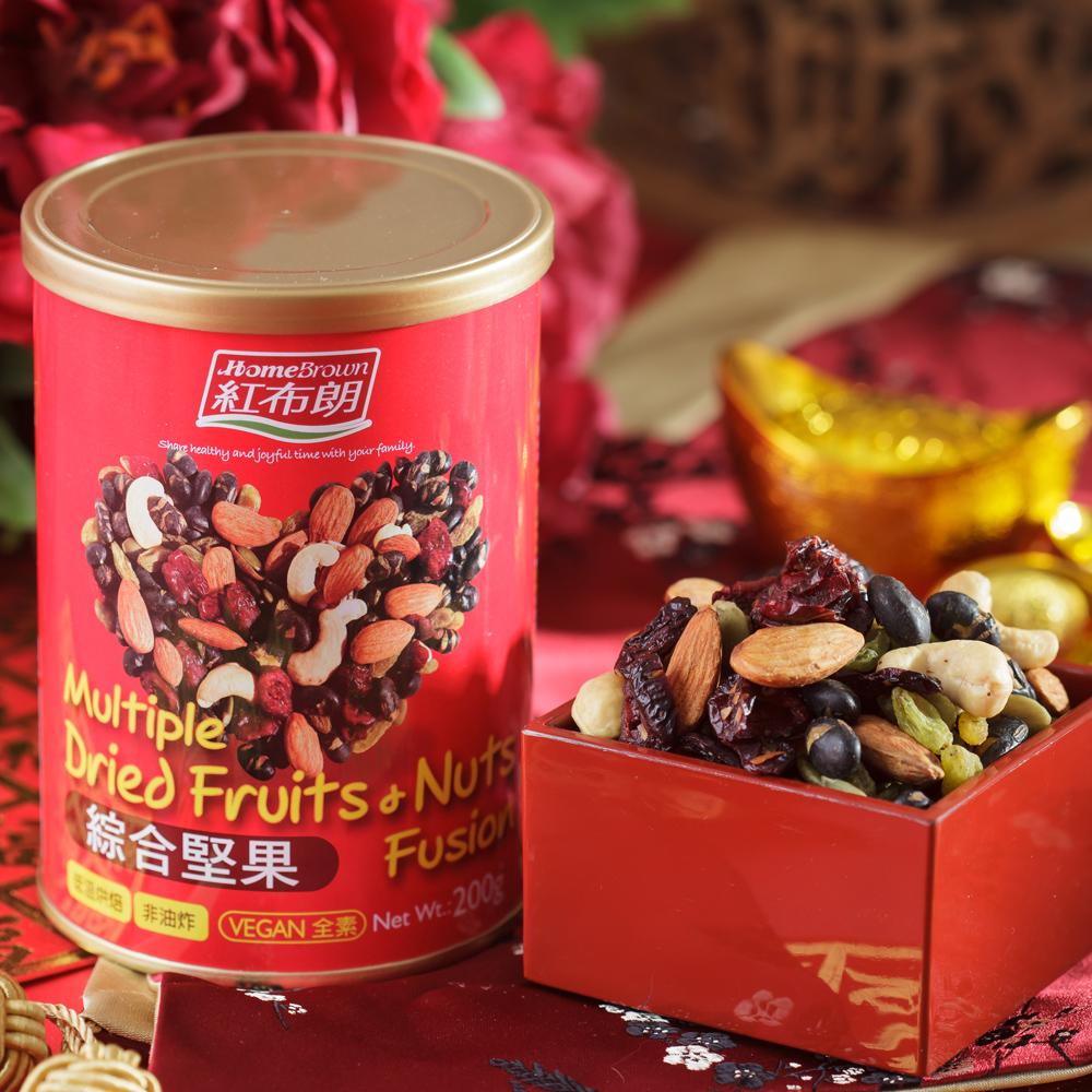 【紅布朗】綜合堅果 200gX3罐