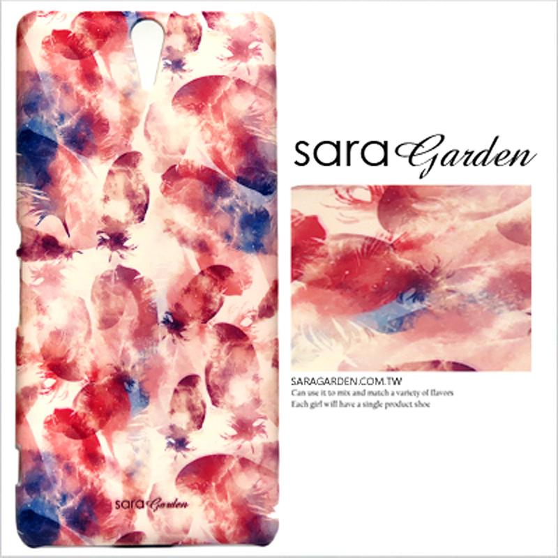 【Sara Garden】客製化 手機殼 HTC 10 Pro 亮彩羽毛 手工 保護殼 硬殼